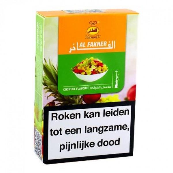 Al Fakher waterpijptabak Mixed Fruit 50 gram