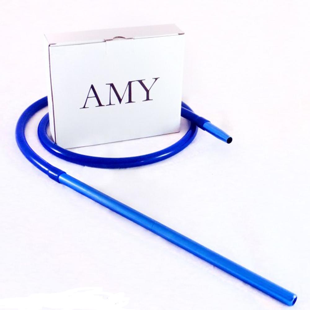 Amy DeLuxe siliconeslang set S232 compleet 5.0 Blauw