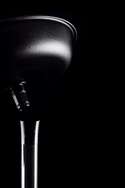 Kaya Shisha Clear Elox 635CE Carbon Konik zwart 2s 97100