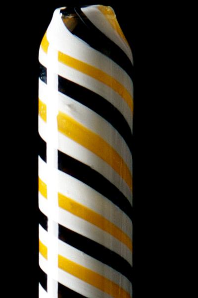 Glazen mondstuk voor siliconeslang Kaya Loop Yellow 650807