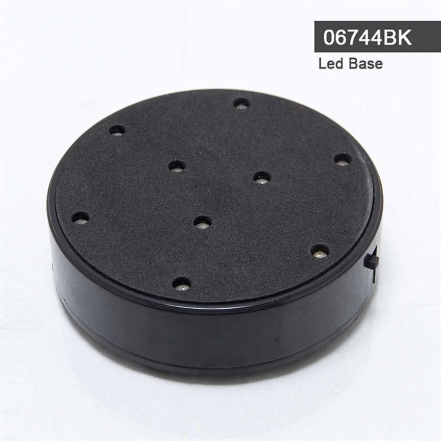 Led Light Base Black 06744BK