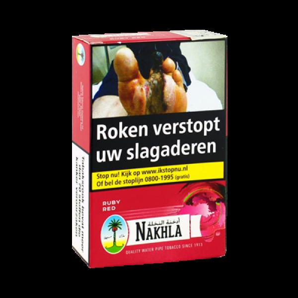 Waterpijptabak Nakhla Kersen (Ruby Red) 50 gram