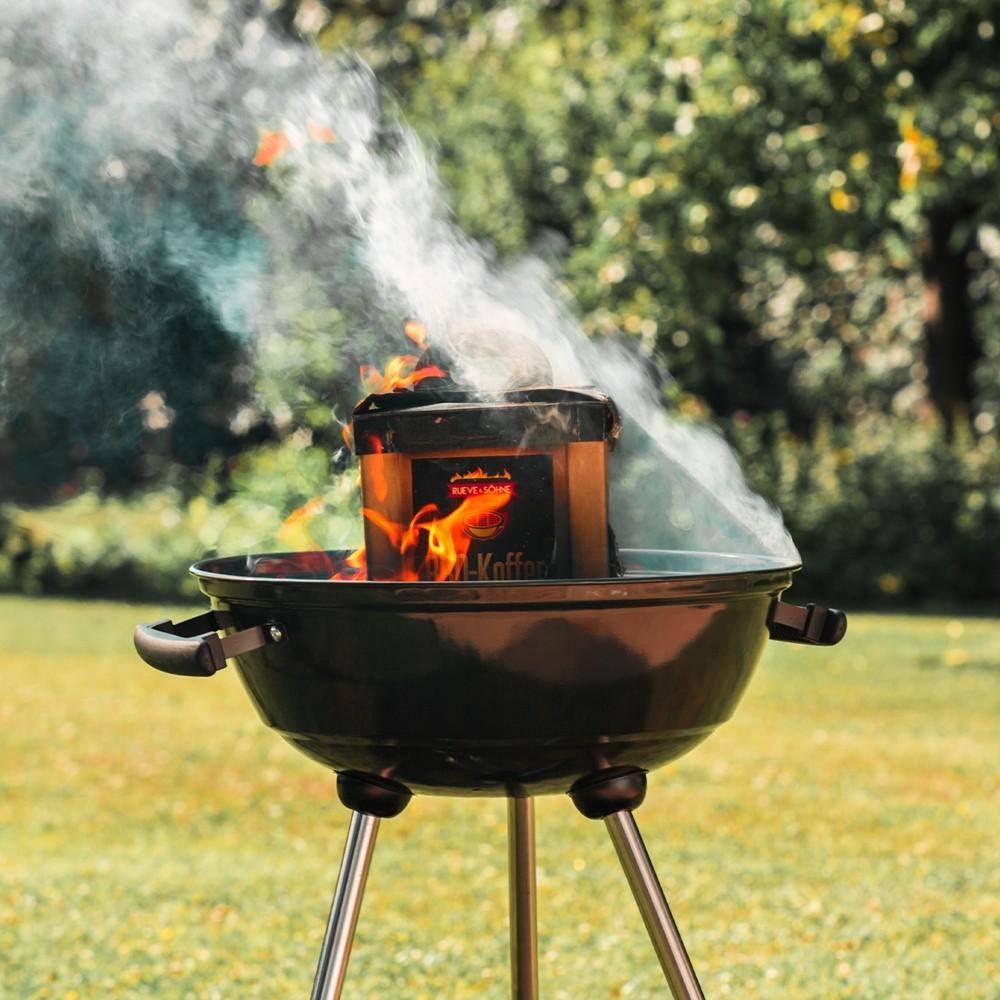 Rueve & Sons BBQ kolenkoffer 2kg