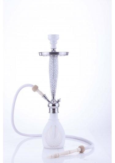 Waterpijp Aladin Bangkok 69 cm wit W527w