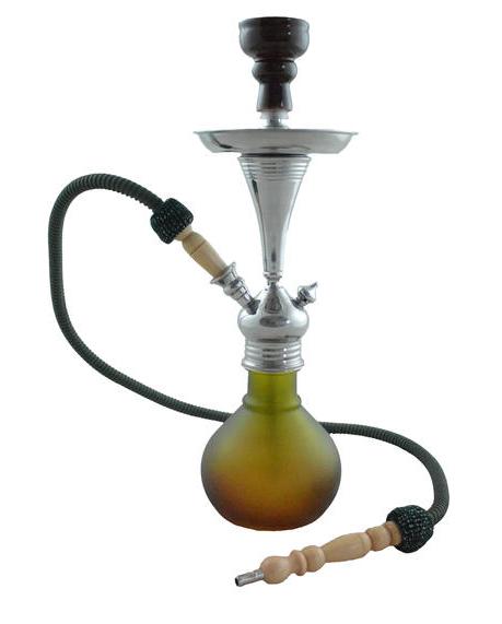 Waterpijp Aladin Bogota  bruin-groen 48 cm W565brgr