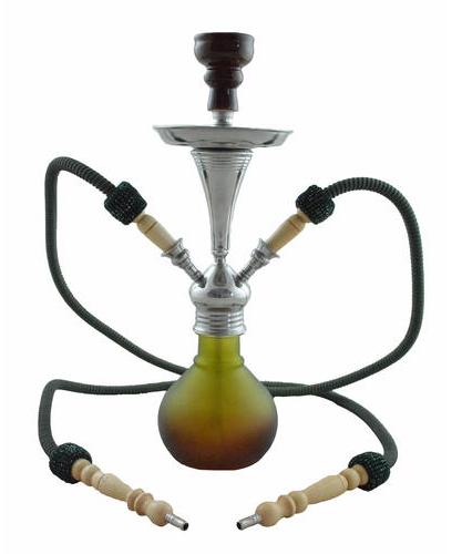 Waterpijp Aladin Numea Bruin Groen  48 cm W5x2