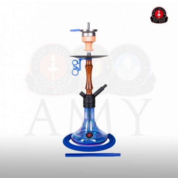 Amy DeLuxe Shisha 083.02R Mini Jungle R Blue