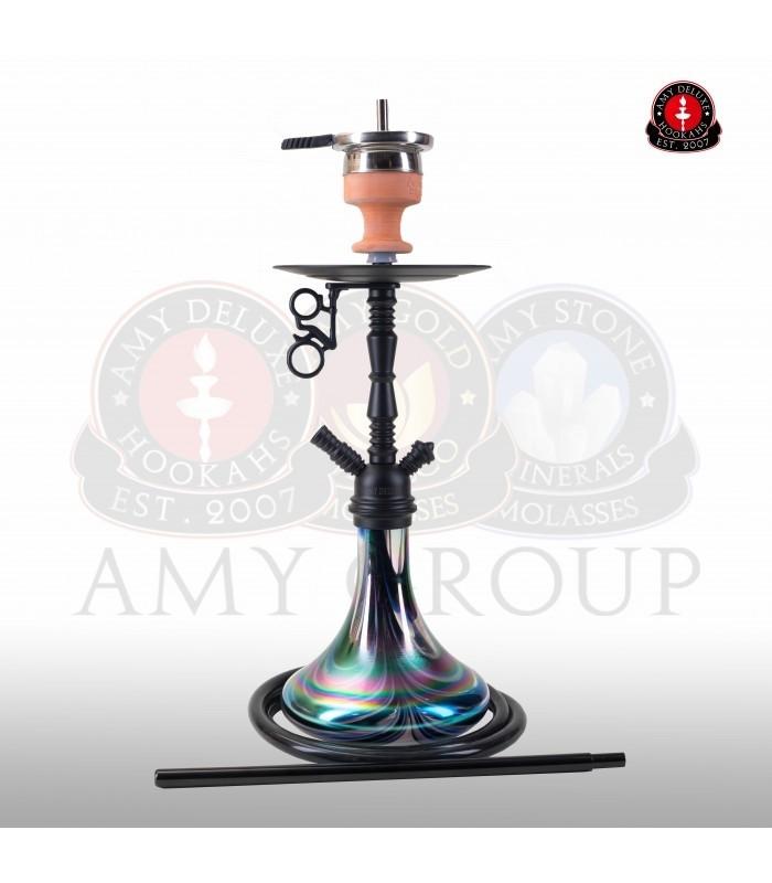 Amy DeLuxe Shisha Middle Zoom R Black 058R PSMBK BK
