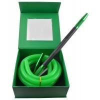 Amy Deluxe Siliconeslang Compleet AS02 Groen met Zwart