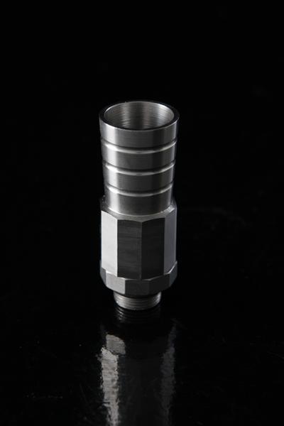 Losse Slangadapter voor Kaya Inox of Brass serie met ventiel 9 mm 06706