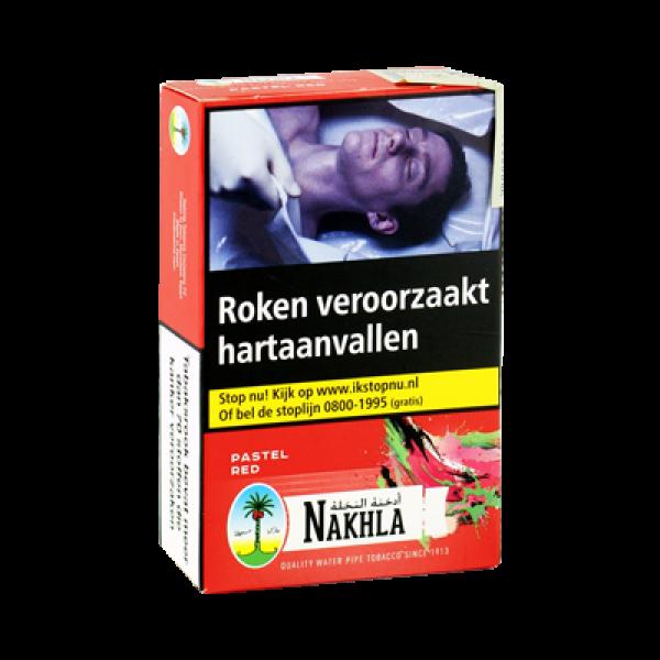 Waterpijptabak Nakhla Watermeloen Pastel Red 50 gram