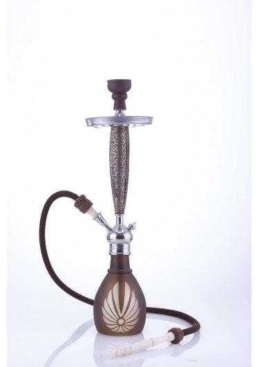 Waterpijp Aladin Bangkok 69 cm bruin W527br