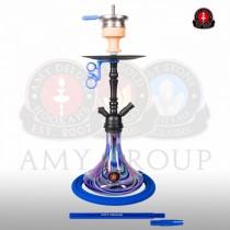 Amy DeLuxe 056R Globe R blauw (mat zwarte kolom)