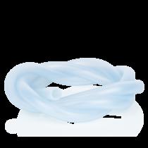 Losse siliconen slang lichtblauw 150 centimeter