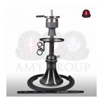 Amy 116.03 Alu Mini Bag Zwart (mat zwarte zuil)