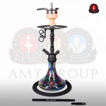 Amy DeLuxe Shisha 056R PSMBK BK Middle Globe R Black