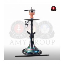 Amy DeLuxe Shisha Middle Zoom R Black 058R PSMBK BK