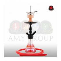 Amy Shisha 340 little Zuri Rainbow matzwart red AMY340R PSMBK RD