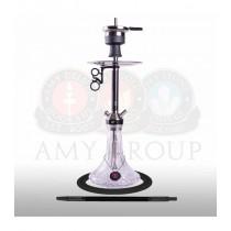 Amy Deluxe SS31.02 Carbonica Lucid S Clear (zwarte kolom) 60cm