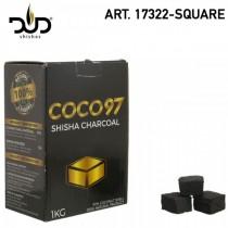 DUD Shisha CoCo 97 Square 64 pcs