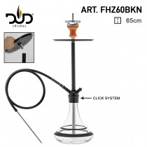 DUD Shisha Space Needle Black FHZ 60 BKN