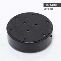 Led Light Base Black 06744BK