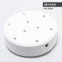 Led light Base Wit 06744WH
