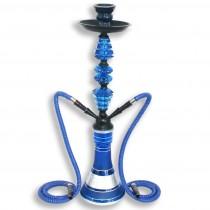 Waterpijp Rysha 54cm blauw