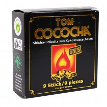 Tom Cococha Gold 9 blokjes van 25 x 25 x 25