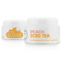 True Cloudz Peach Iced Tea