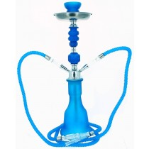 Waterpijp Blue Neon Gizeh 2 slangen 63855