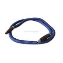 Waterpijpslang blauw 100 cm