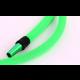 Samaya Siliconeslang met nylon omhulsel Groen