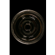 Silicone Tabakskom met funnel inzet zwart 69145