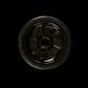 Silicone Tabakskom met lamellen funnel inset zwart 69148